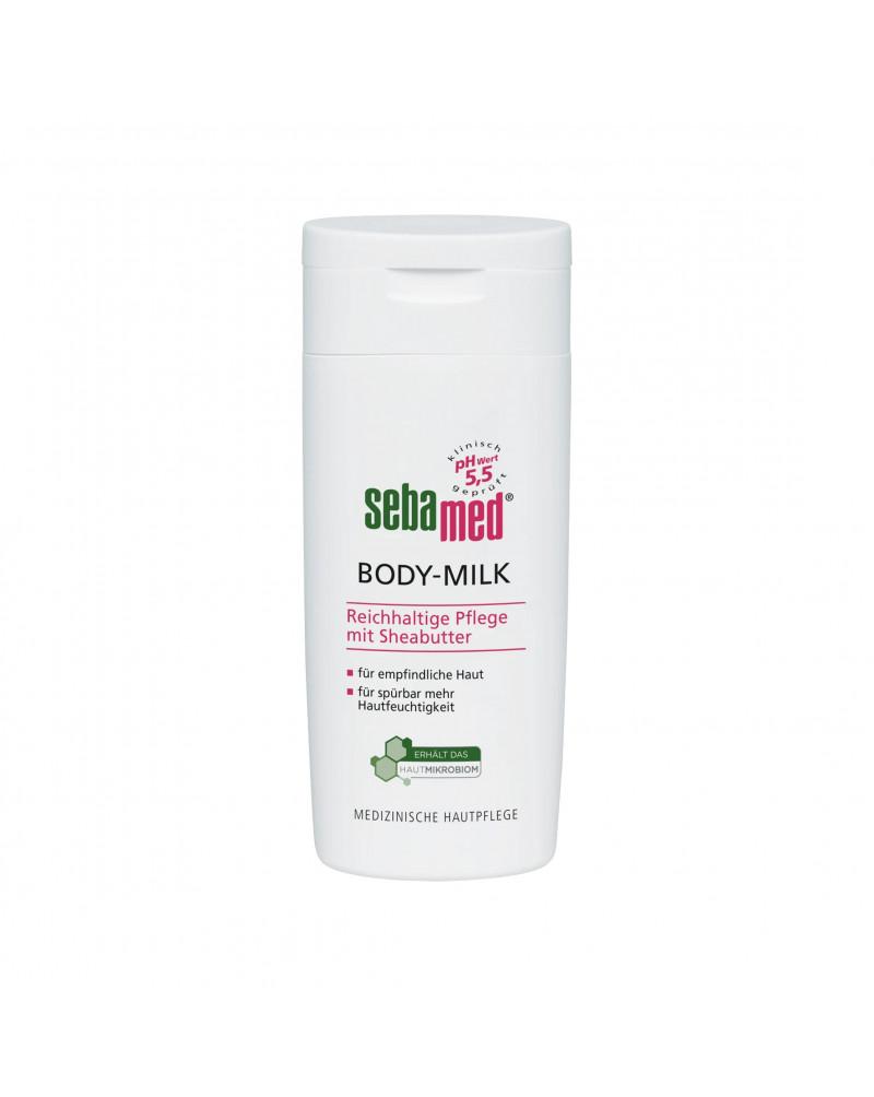 Körpermilch Молочко для тела для чувствительной и сухой кожи, 200 мл.
