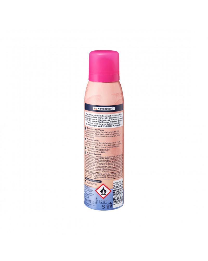 Deo Spray Dream Big Дезодорант с ароматом сладкой ванили и свежих цветов, 150 мл