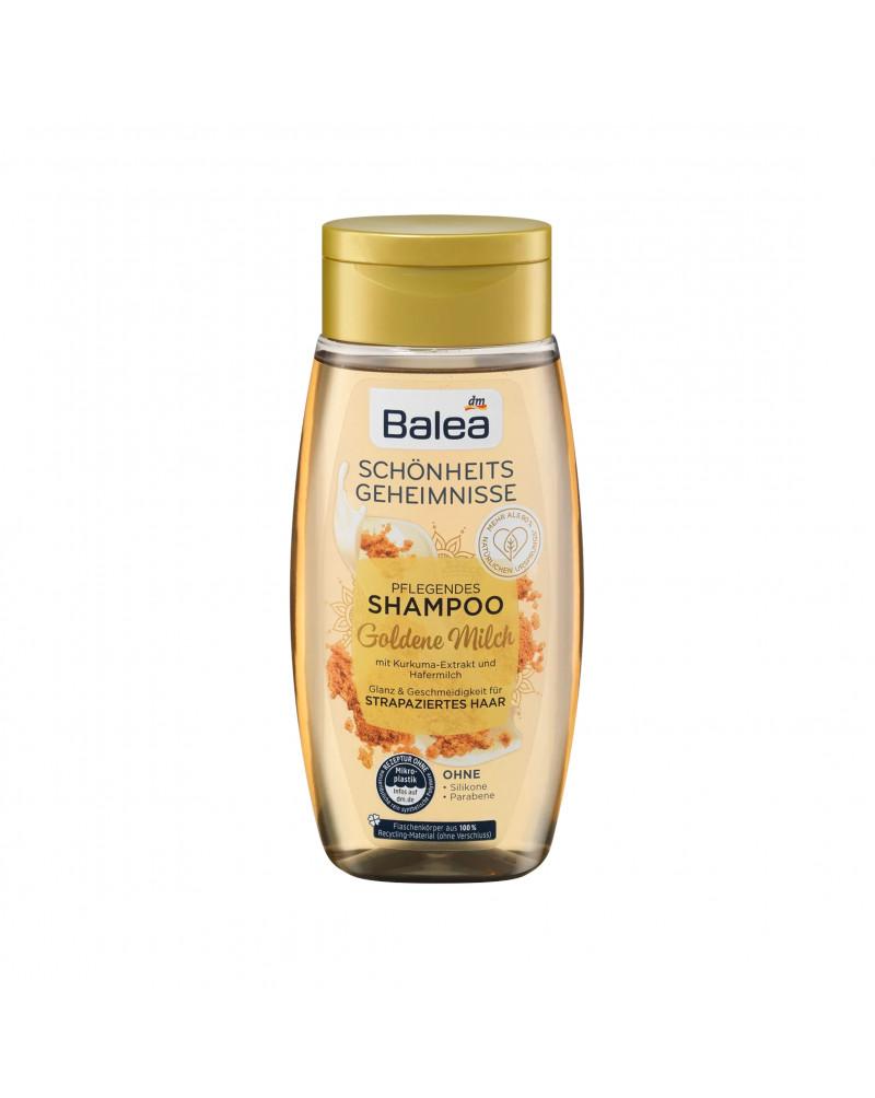 Shampoo Goldene Milch Питательный шампунь с экстрактом куркумы и овсяным молоком, 250 мл
