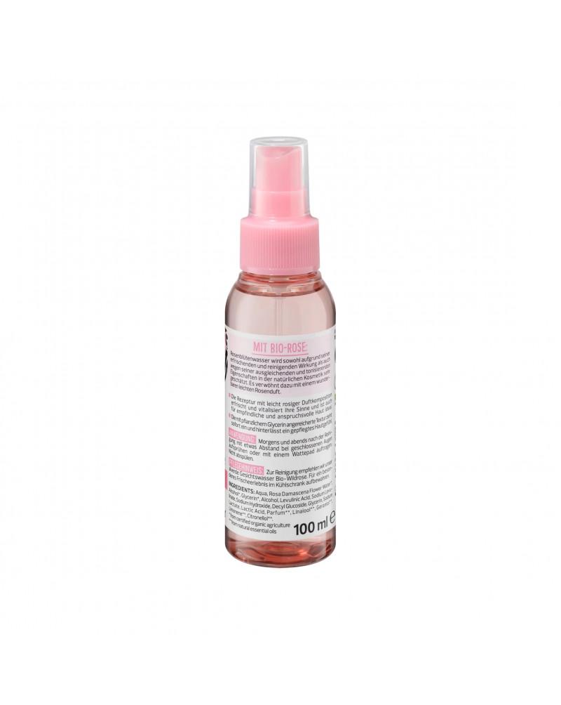 Gesichtsspray Bio-Rosenblütenwasser Спрей для лица с органической водой из цветов розы, 100 мл.