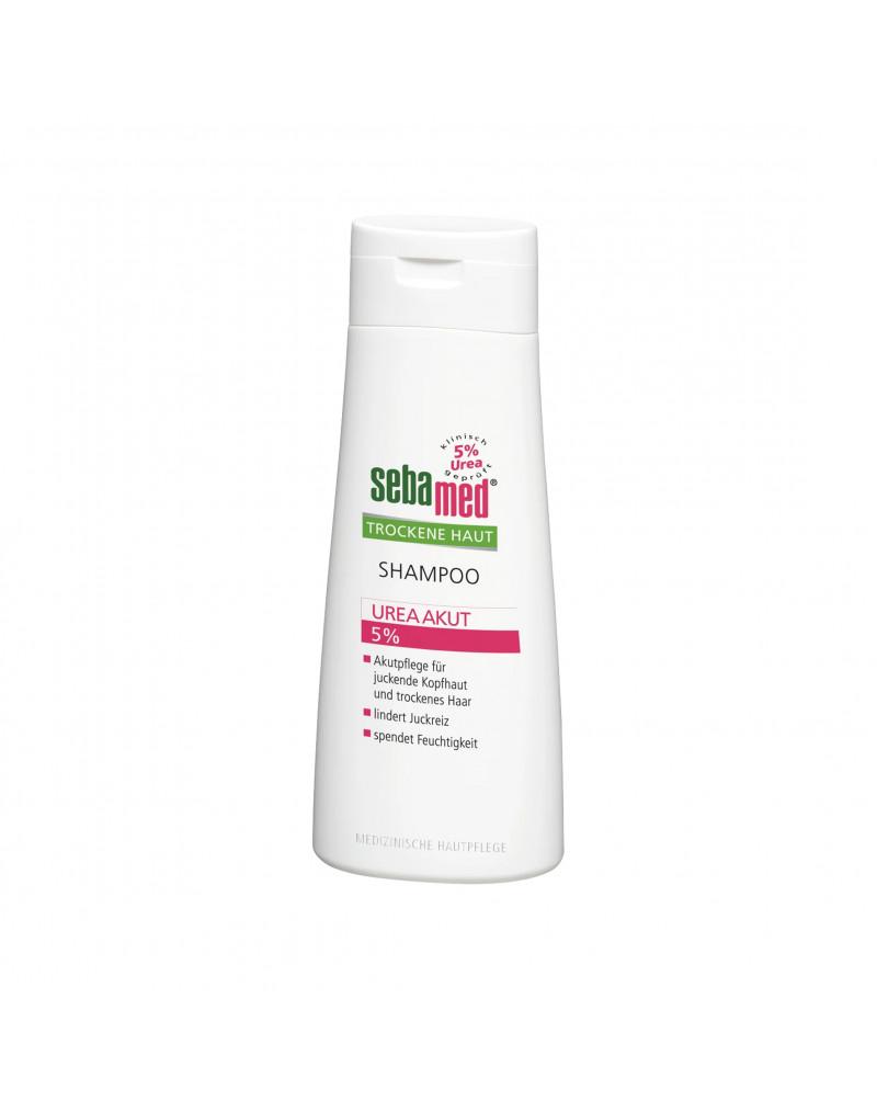 Shampoo Trockene Haut Urea Akut Шампунь для сухих и поврежденных волос с мочевиной 5%, 200 мл.