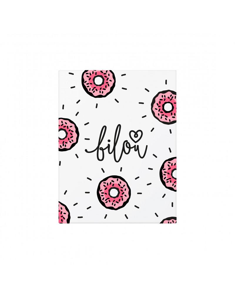 Geschenkset Tasty Donut Подарочный набор средств для тела Tasty Donut, с ароматом пончика и клубничной глазури.