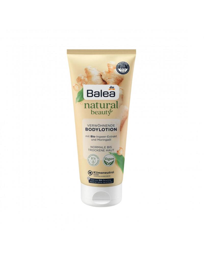 Natural Beauty Bodylotion Bio Ingwer Extrakt & Moringa Öl Лосьон для тела с органическим экстрактом имбиря и маслом моринги, 200 мл.