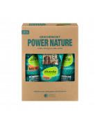 Geschenkset Power Nature Eukalyptus-Kaffee Набор для мужчин с экстрактом эвкалипта, экстрактом кофе, маслом бабассу и маслом подсолнуха.