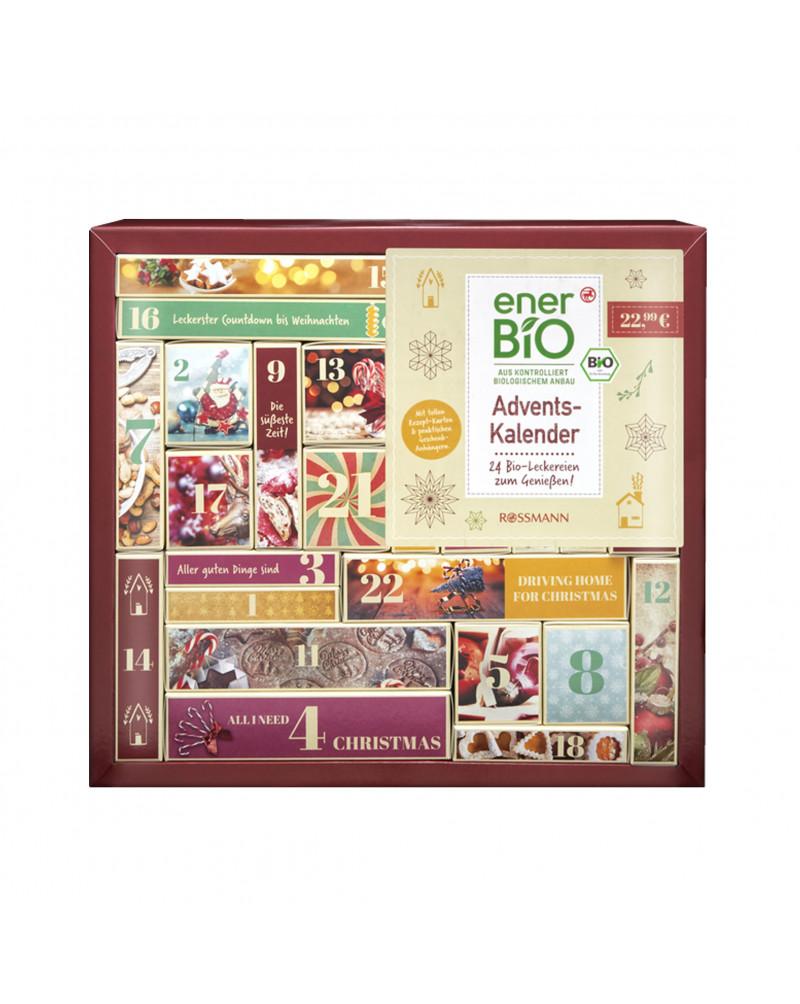 Adventskalender Адвент-календарь с органическими продуктами