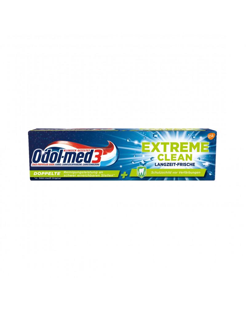 Zahnpasta Extreme Clean Langzeitfrische  Зубная паста для глубокого очищения зубов и длительной свежести, 75 мл
