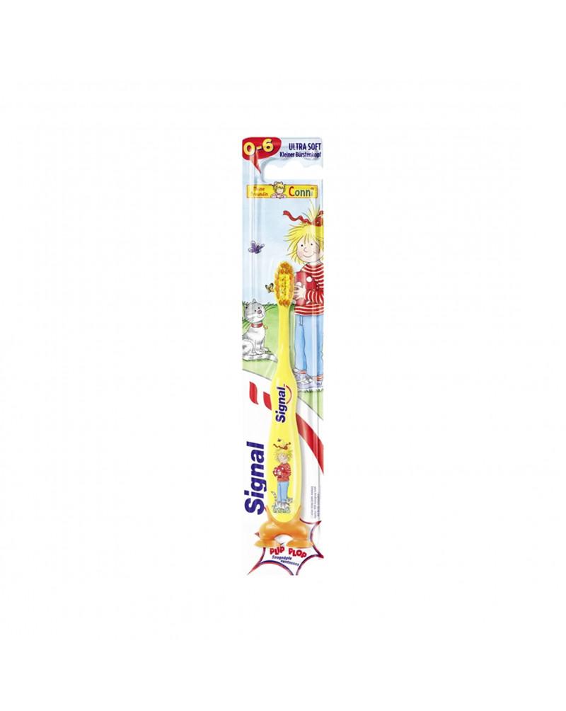 Kids Zahnbürste Зубная щетка для детей с 0 до 6 лет, мягкая, 1 шт.