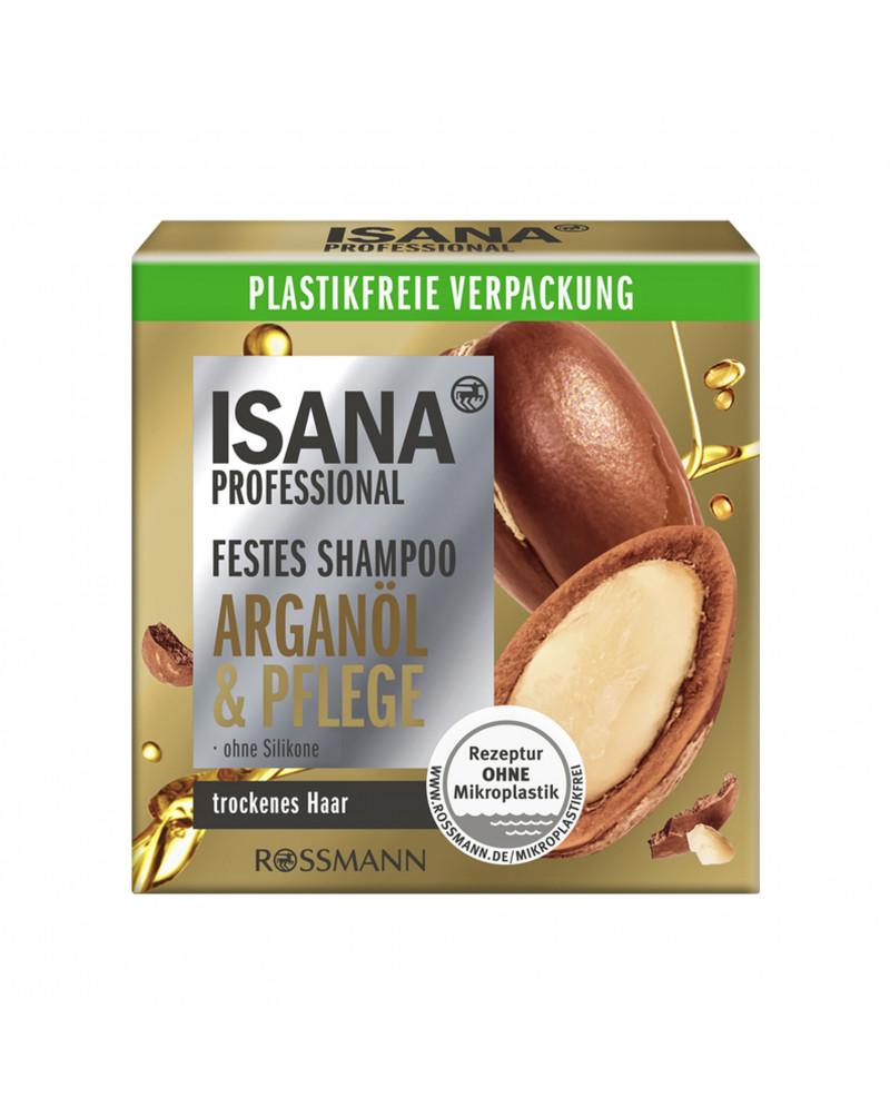 Festes Shampoo Arganöl & Pflege Твердый шампунь с аргановым маслом, 70 гр.