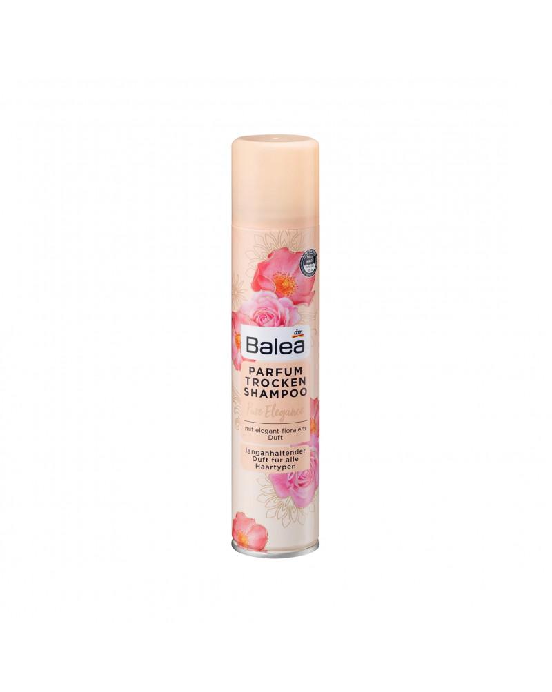 Parfum Trockenshampoo Pure Elegance Сухой шампунь для волос с ароматом шиповника и пудровыми цветами жасмина, 200 мл.
