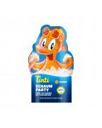 Tinti Schaumparty Bad Пена для ванны с пантенолом и ароматом персика, 40 мл