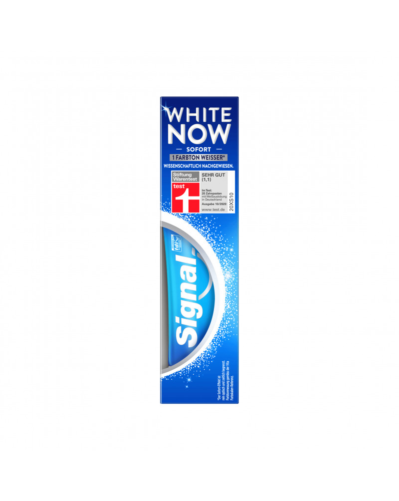 White Now Zahnpasta Зубная паста отбеливающая с фторидом, 75 мл