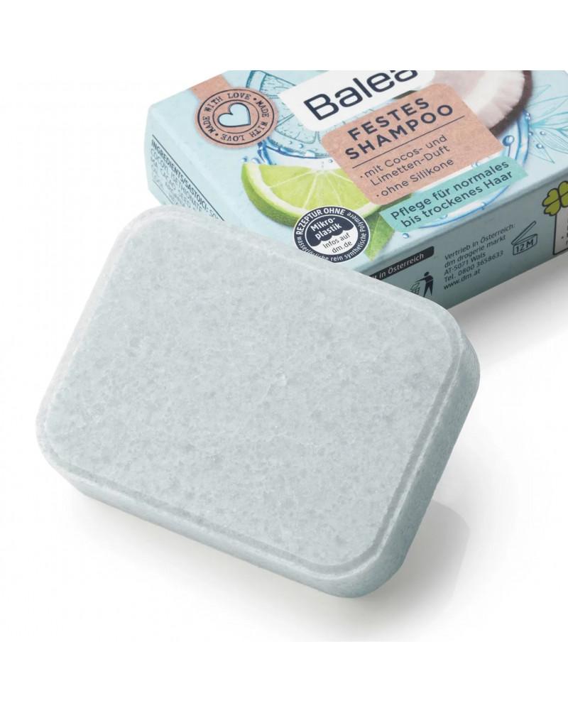Festes Shampoo Cocos-Limette Твердый шампунь с ароматом лайма и кокоса, 60 гр.