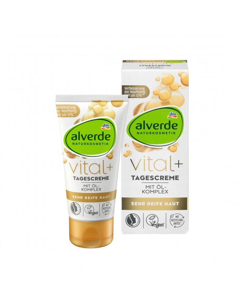 Vital+ Tagescreme Дневной крем с активным комплексом орехов инков, арганового и миндального масел, 50 мл.