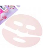 Maske Rosenwasser Hydrogel Гидрогелевая маска для лица с розовой водой и гиалуроновой кислотой, 1 шт.