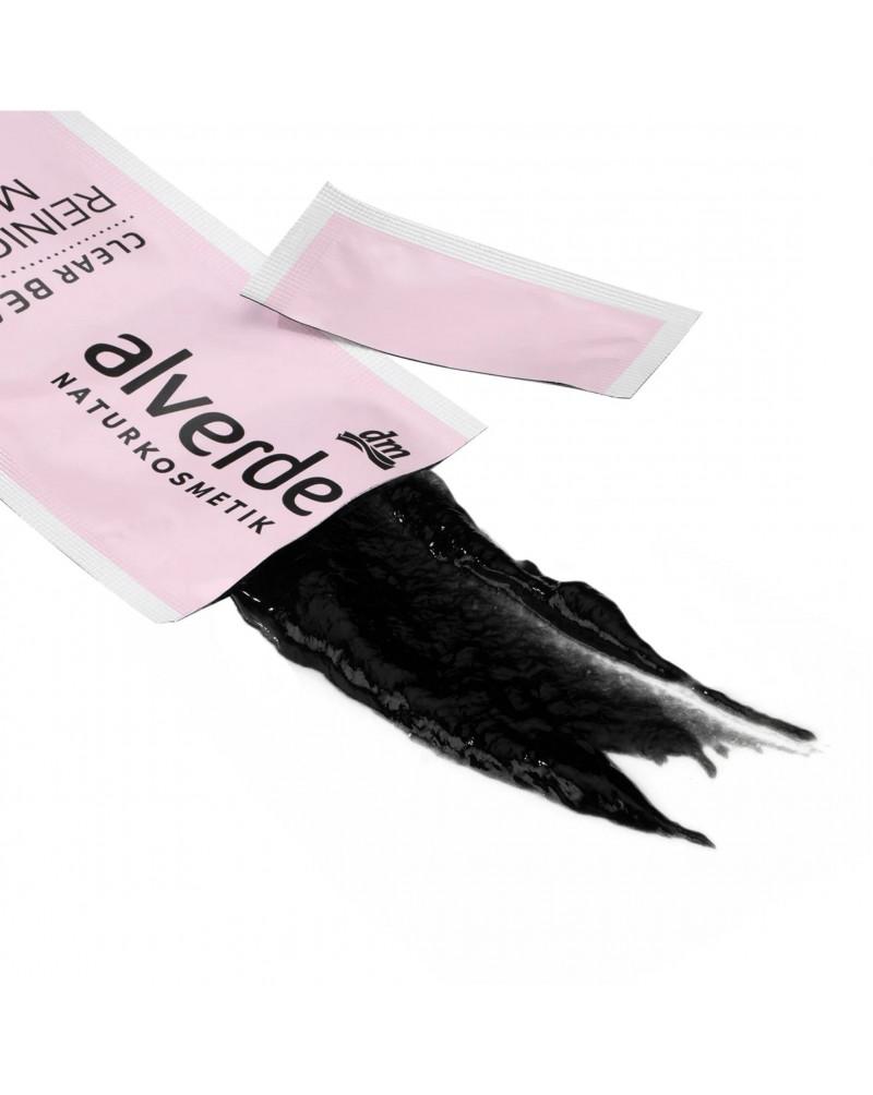 Clear Beauty Reinigungsmaske mit Aktivkohle Очищающая маска для лица с активированным углем, 10 мл.