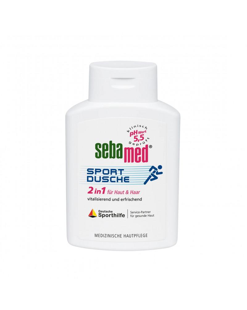 "Duschgel Sportdusche 2in1 für Haut & Haar Гель для душа ""Спортивный"" 2В1 для тела и волос, 200 мл."