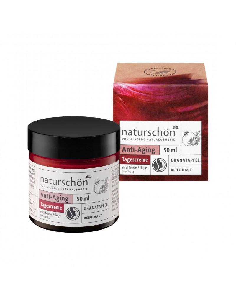 Naturschön Anti-Aging Tagescreme Антивозрастной дневной крем для лица с экстрактом граната, 50 мл.