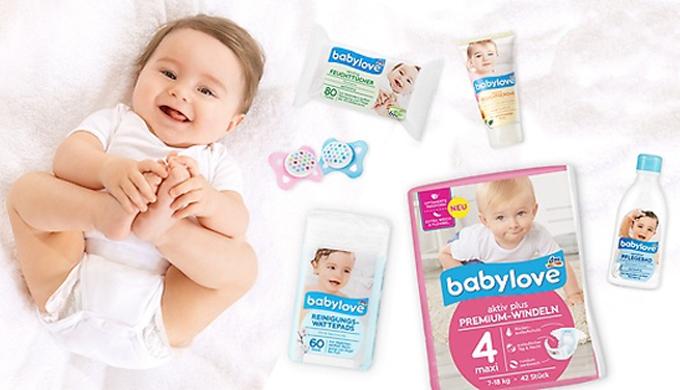 Babylove немецкий бренд №1 для ваших малышей от dm-drogerie markt